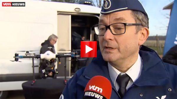 Belgische-politiedrone-video