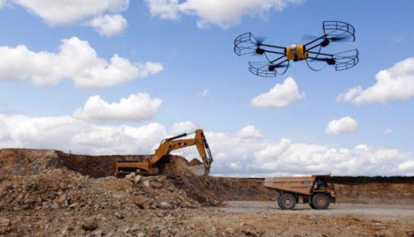 Caterpillar gaat drones inzetten