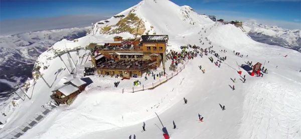 Drone-wintersport-Oostenrijk