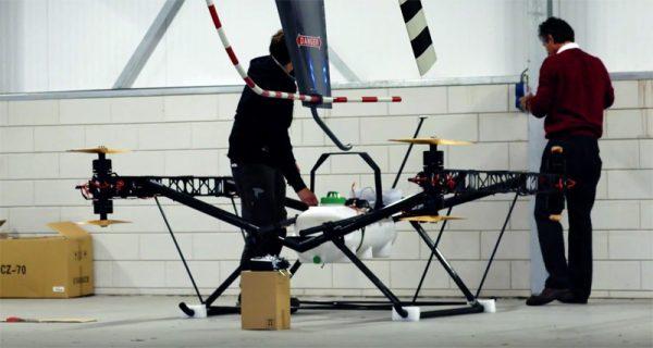 Drone4Agro-prototype