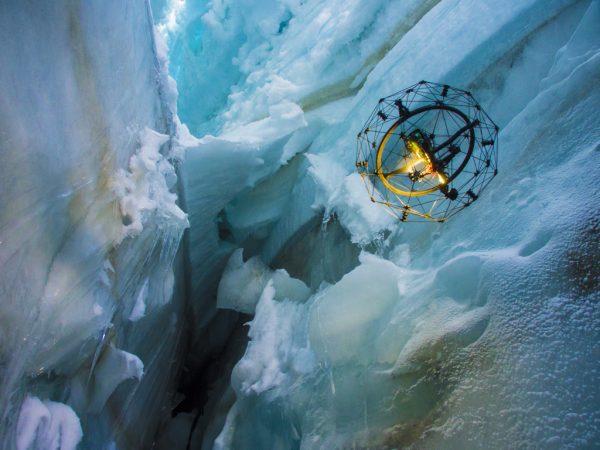 GimBall in gletscher