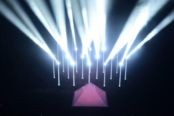 Drone-lichtshow