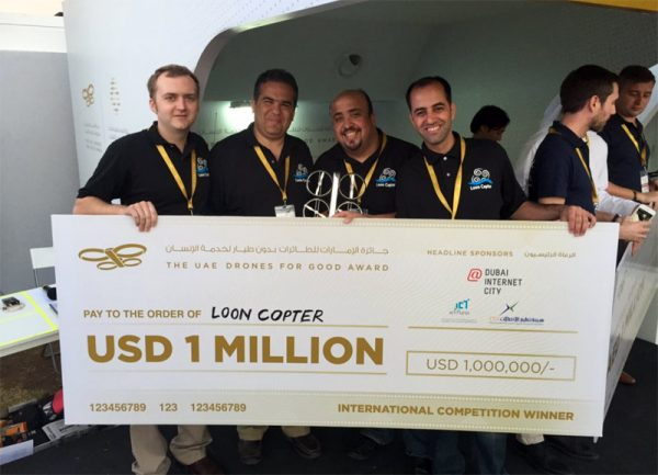 Drones-for-Good-Award-2016 Loon Copter