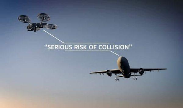 Bijna-botsing met vliegtuig