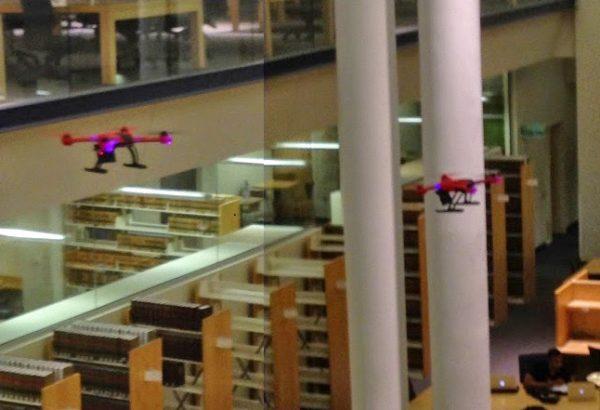 Drones-in-bibliotheek