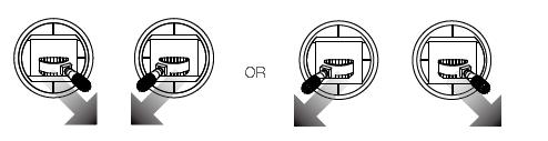 Voer het CNC commando alleen uit als je drone aan de grond staat