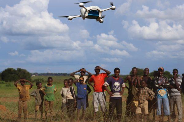 Unicef drone Malawi