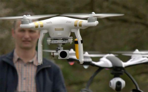 Hobby-dronepiloten