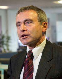 De Britse minister van transport, Robbert Goodwill