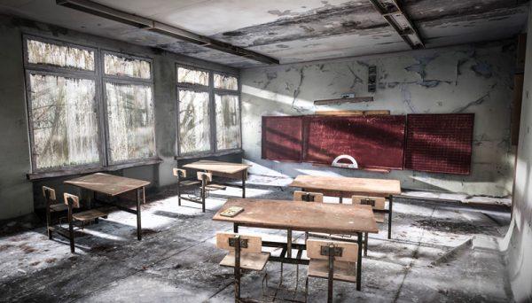Tsernobyl-klaslokaal