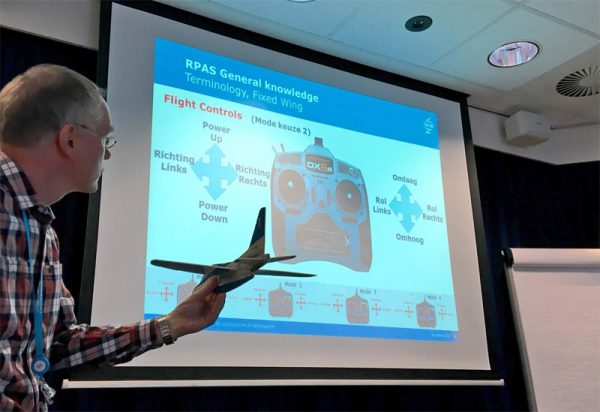 De basisprincipes van de besturing van een RPAS