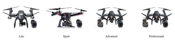 Flypro-XEage-uitvoeringen