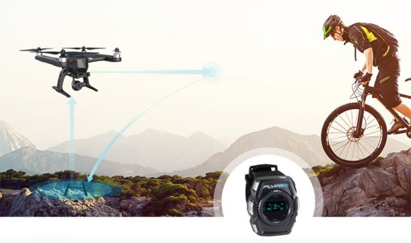 Flypro-smartwatch-drone