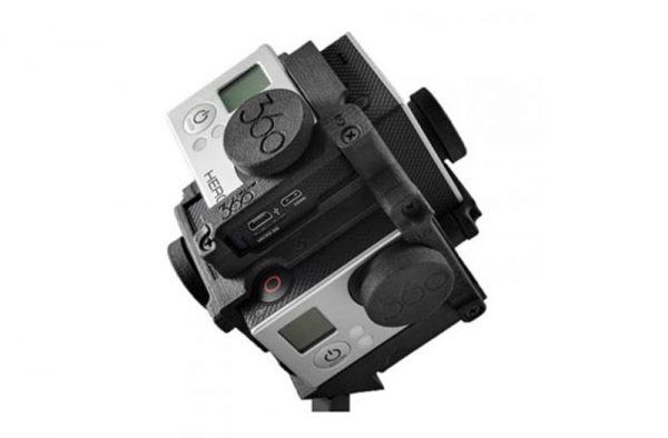 De Janus drone beschikt over twee Freedom 360 rigs