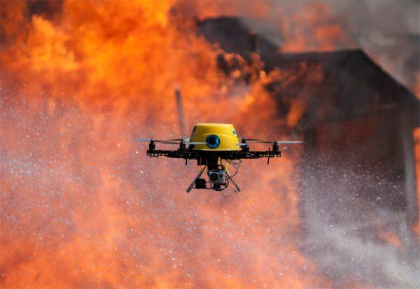 Levensreddende-drone