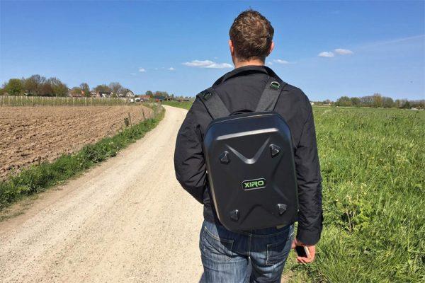 De Xiro Discovery wordt compleet met backpack geleverd