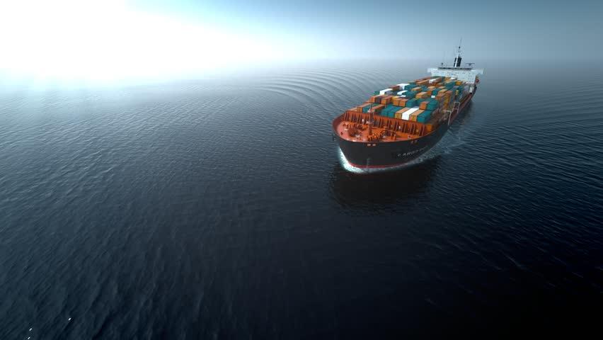 Schip Aan De Ketting Gelegd Na Dronevlucht Bij Suezkanaal