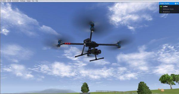 Sommige drone simulators zijn zeer realistisch