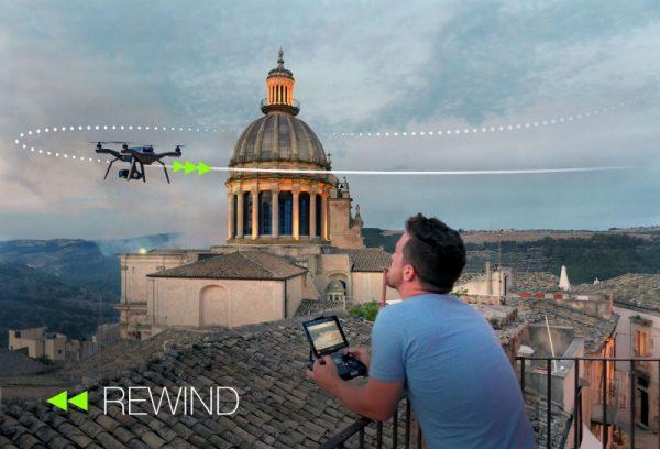 Solo drone rewind