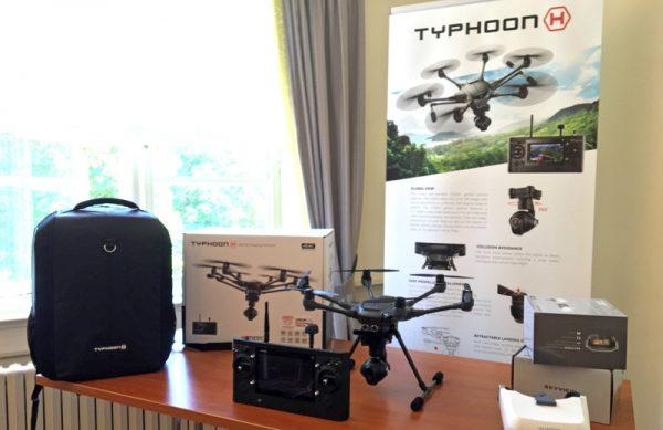 De Typhoon H Pro wordt geleverd inclusief backback, 2e accu en natuurlijk de Intel RealSense-module