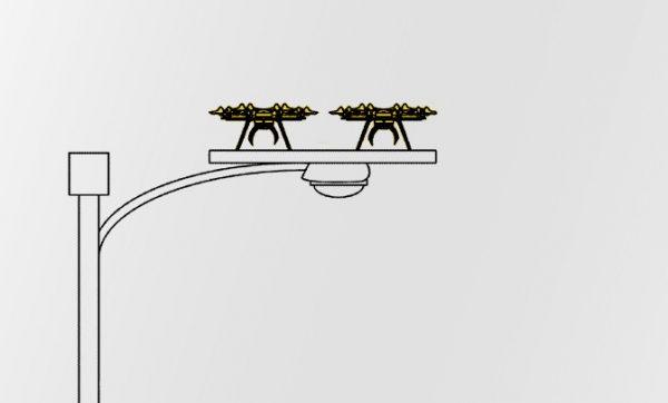 Drone-vogelhuisje