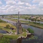 Droneverbod boven Kinderdijk mogelijk voor binnenkort