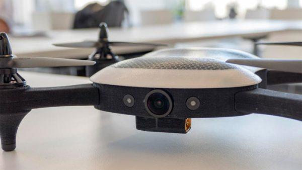 Teal-drone-voorzijde