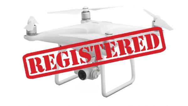 Drone registreren