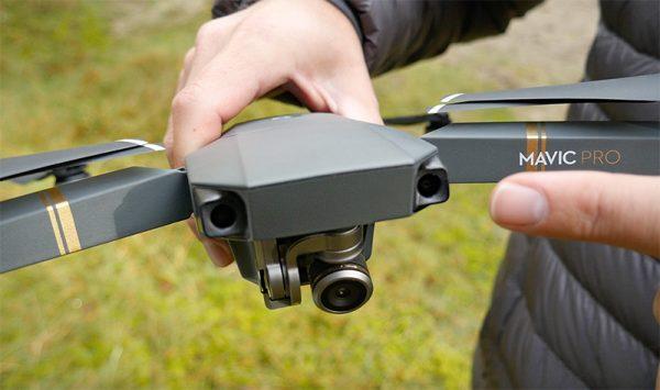 De DJI Mavic Pro heeft aparte sensoren voor obstakeldetectie