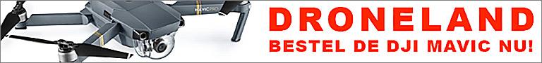 Bestel de DJI Mavic Pro bij DroneLand