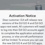 DJI gaat geofencing afdwingen middels activatiecheck