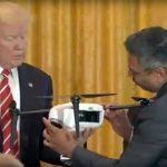 Trump ontvangt vertegenwoordigers dronesector