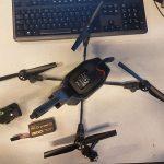 Man door drone geraakt in centrum Rotterdam