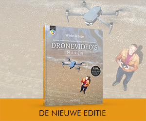 Bestel de 2e druk van Dronevideo's maken