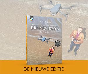 Bestel de 2e druk van Dronevideo's maken