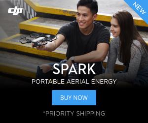 Bestel de DJI Spark via DJI.com en ontvang een gratis 16 GB geheugenkaartje!