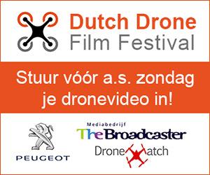Stuur voor 28/8 je mooiste dronevideo in!