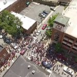 Aanslag Charlottesville bij toeval gefilmd door drone