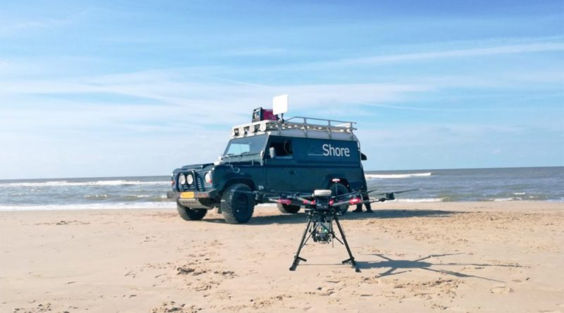 Drone met LiDAR. Bron: Shore