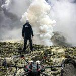 Drones nemen gasmonsters tijdens eruptie van vulkaan Etna