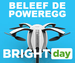 Beleef de PowerEgg op Bright Day