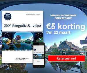 Reserveer '360º-fotografie & -video' nu met €5 korting!