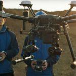 Vermiste wandelaarster opgespoord met behulp van drone