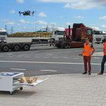'Autonome drone kan helpen om truckparkings beter te benutten' #adv