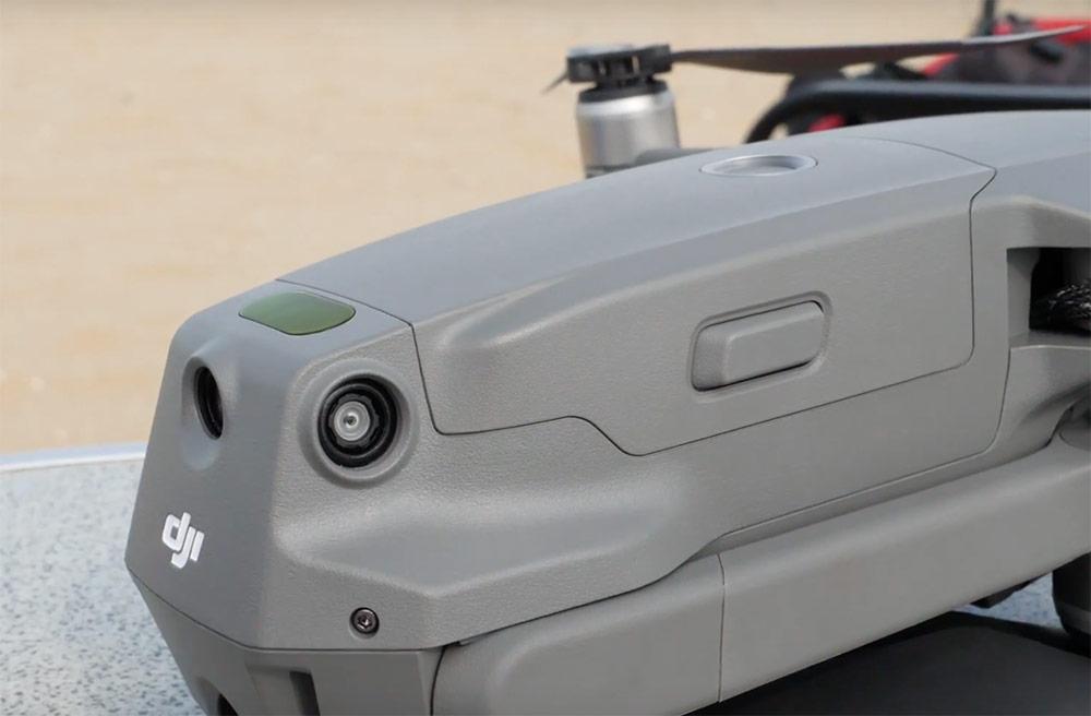 De Mavic 2 heeft nu ook sensoren aan de zijkanten en aan de achterzijde