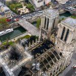 Kijken: dronevideo en 360º luchtfoto van de brandschade aan de Notre Dame