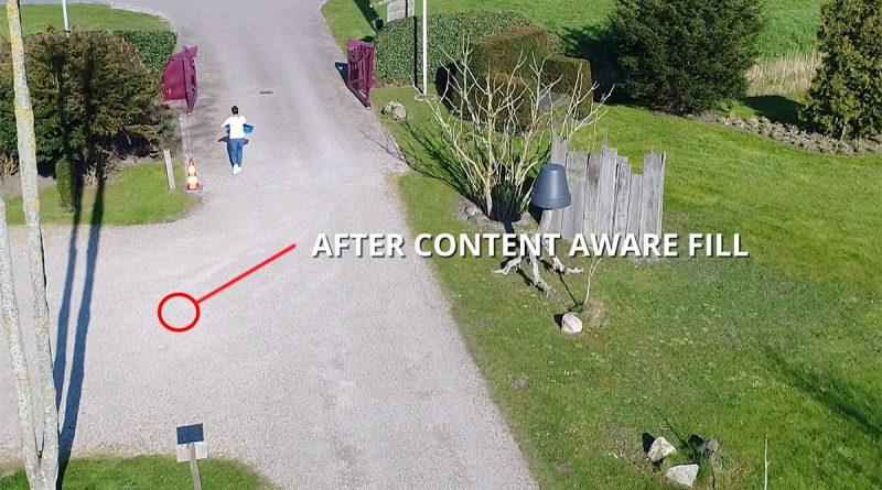 Droneschaduw in je shot? Fix het met Content Aware Fill in