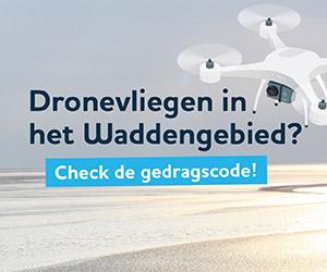 Gedragscode dronevliegen in het Waddengebied