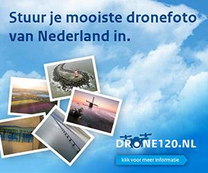 Fotografeer Nederland met je drone en maak kans op mooie prijzen