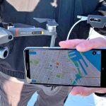 DJI demonstreert smartphone-app die nabijvliegende drones toont